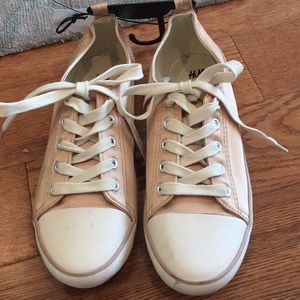 H&M light pink and offwhite sneakers as 37 *new*